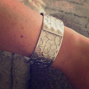 AUTHENTIC Coach Silver bracelet